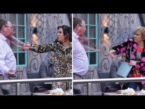 EastEnders - Jean & Kat Throw Wine At Ian (5th February 2019) thumbnail