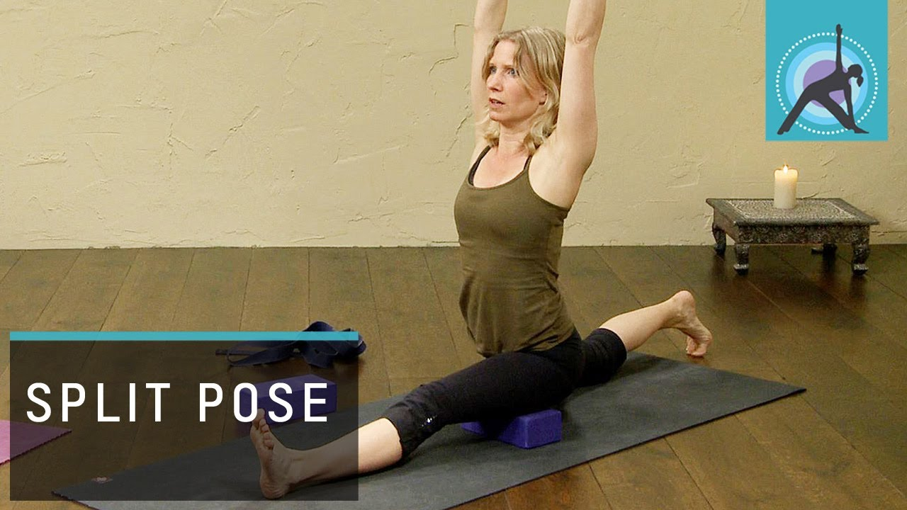Splits Pose Hanumanasana Yoga Routine