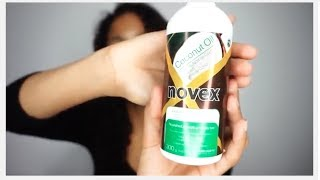 My Natural Curly Hair Routine ft Novex Hair Care