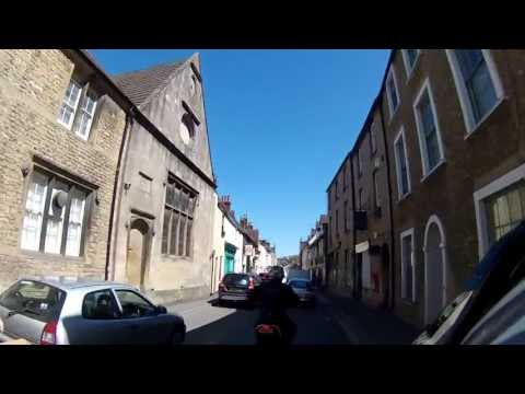 A Short Ride Through Bruton in Somerset