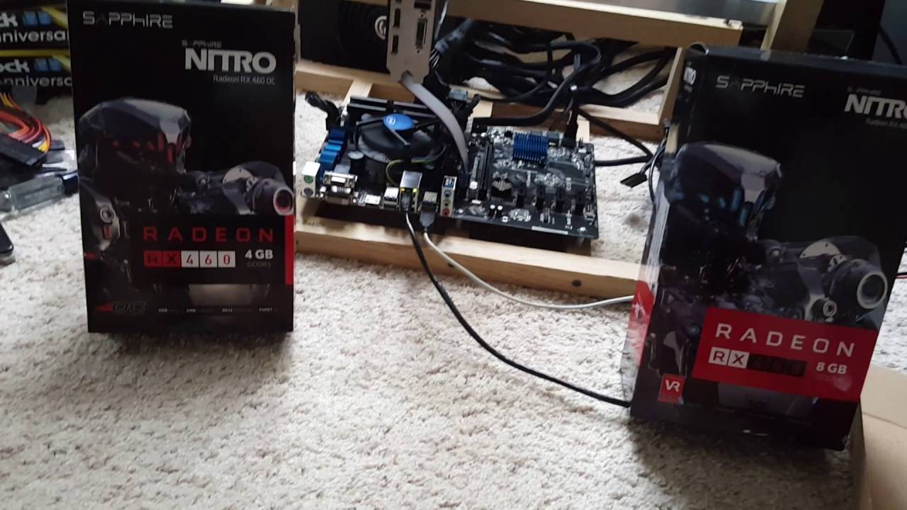mine cryptocurrency with amd rx 460