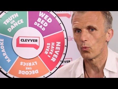 The Strain's Richard Sammel Plays Wheel Of Dares  Comic Con 2016