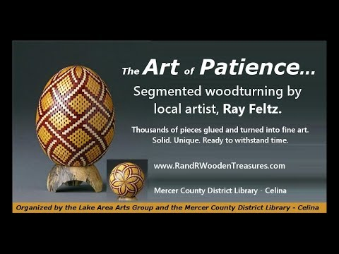 The Art of Patience: Segmented Woodturning with Ray Feltz