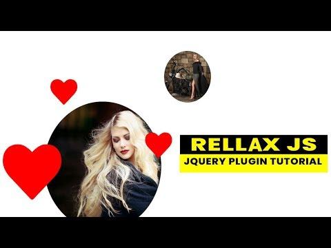 Rellax js tutorial | Parallax Background with rellax js | Jquery Plugin Tutorial