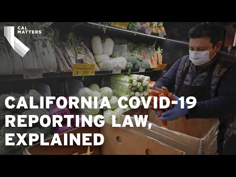 California now requiring businesses share COVID-19 outbreak data