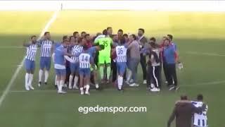 Video 174   Play-Out müsabakasında Özçamdibispor'u mağlup eden İzmirspor'un sevinci!