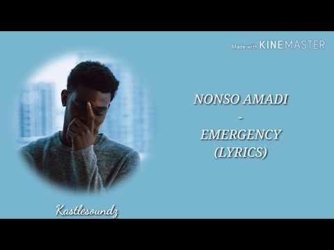 Nonso Amadi - Emergency (Lyrics)