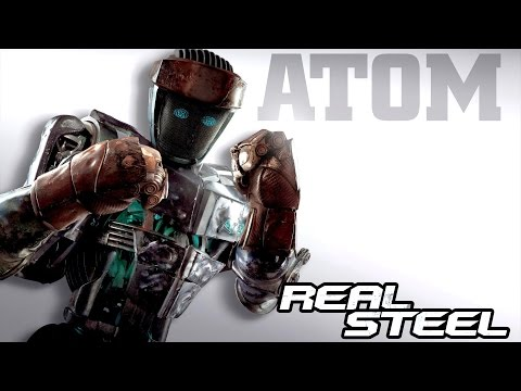 Real Steel FINAL ATOM VS ALL ROBOTS Series of fights NEW ROBOT (Живая Сталь)
