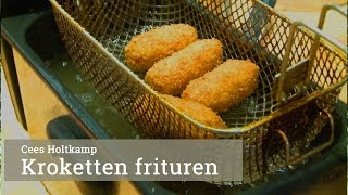 Masterclass kroketten frituren door Cees Holtkamp