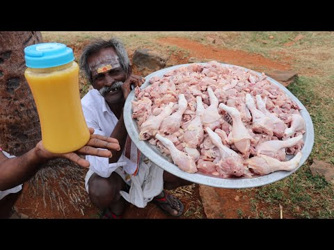 How to prepare chicken ghee roast in tamil