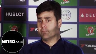 Mauricio Pochettino's reaction to Tottenham's victory over Chelsea | Metro.co.uk