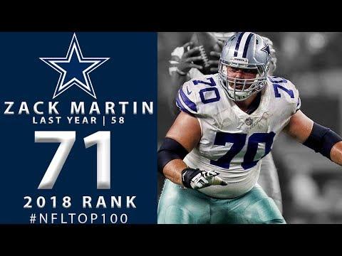 half off 52d38 b327b 71: Zack Martin (G, Cowboys)   Top 100 Players of 2018   NFL ...