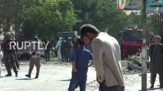 Afghanistan: At least 24 killed as car bomb strikes bus in Kabul