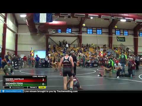 Middle School 87 Brennen Feign Cheyenne Mountain WC Vs Xavier Castillo Grindhouse