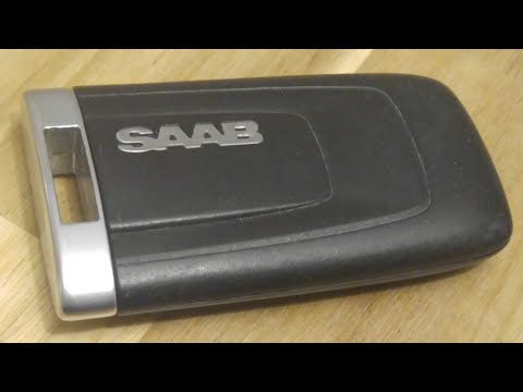 SAAB 9-4X 2010-2011 Smart Key Fob Battery Replacement - EASY DIY
