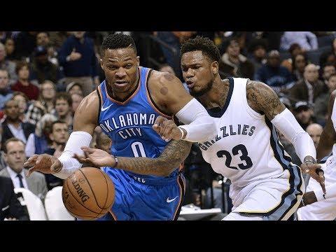Russell Westbrook Game Winner vs Grizzlies! 87th Triple Double 2017-18 Season
