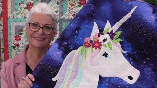 Unicorn Applique Quilt