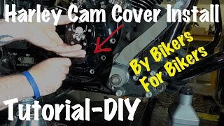 How To Install Harley Davidson Cam Cover-DIY-Biker Podcast