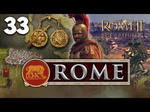 STRIKE FROM THE SEA! Total War: Rome II - Rise of the Republic - Rome Campaign #33