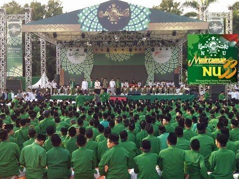 TERBANGAN di Muktamar NU Ke 33, Jombang -  Jawa Timur
