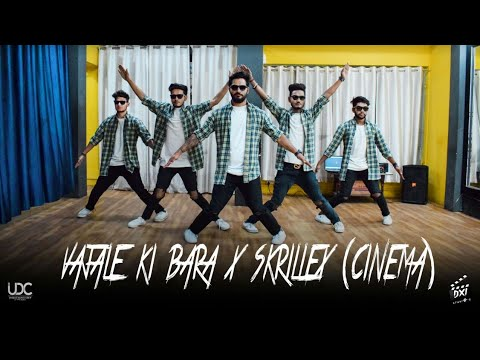 Robotics and Animation Dance Marathi Song Wajle Ki Bara X Cinema Dubstep | Best Dance UDC India