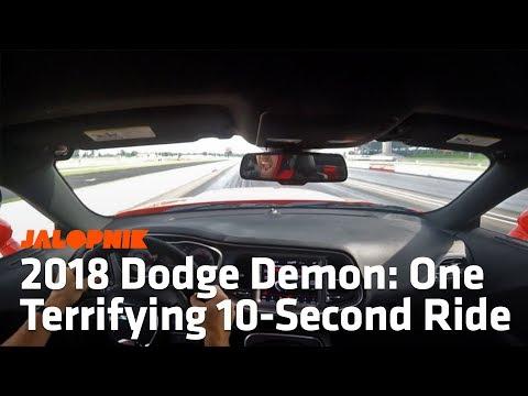 2018 Dodge Demon TransBrake Launch And Quarter Mile Run