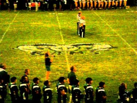 National Anthem at Kemper Academy, DeKalb MS....Morgan Burris