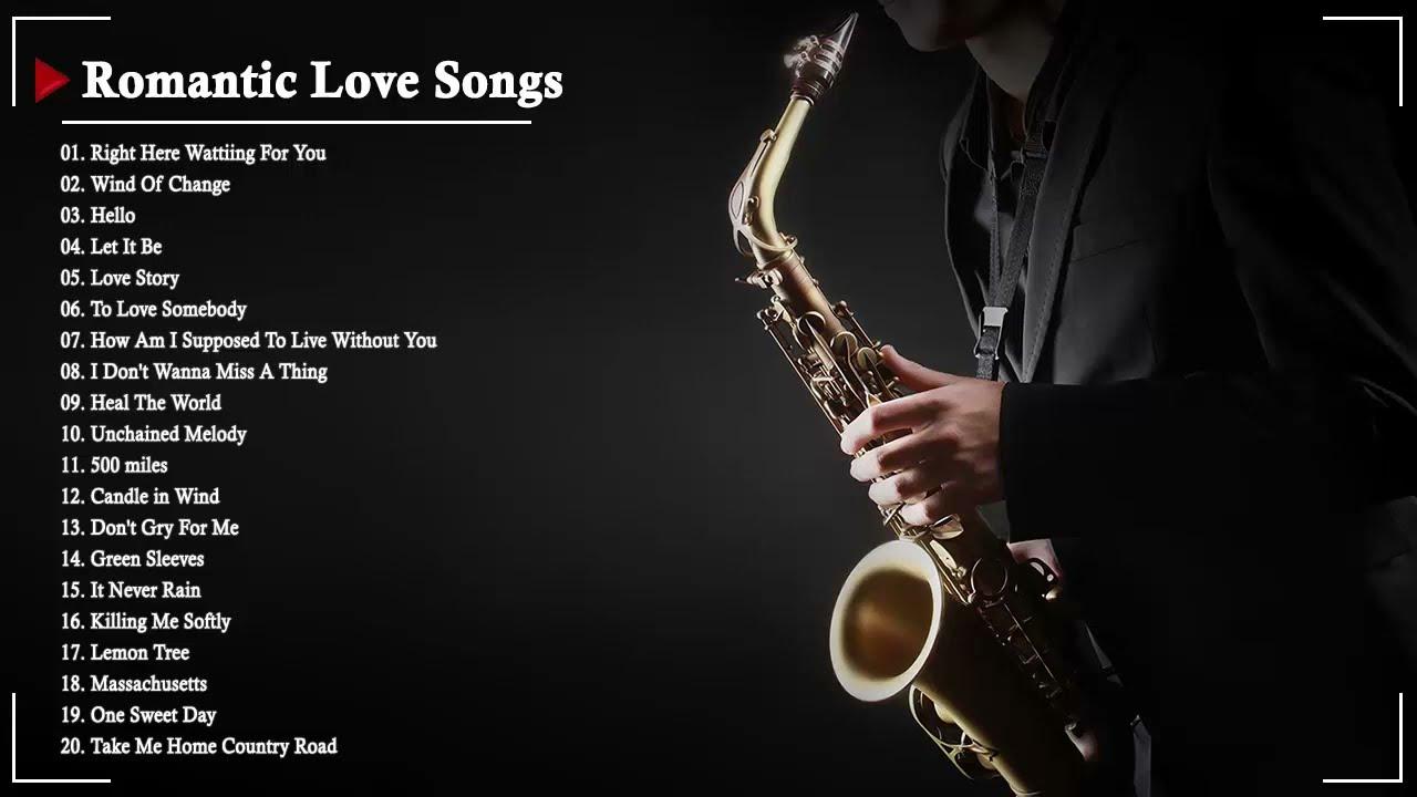 Download The Very Best Of Beautiful Romantic Saxophone Love Songs - Best Saxophone instrumental love songs