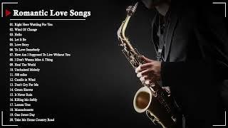 The Very Best Of Beautiful Romantic Saxophone Love Songs - Best Saxophone instrumental love songs