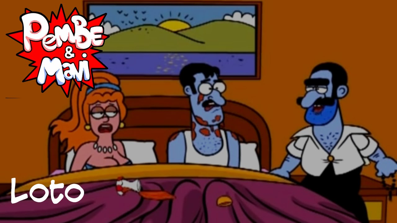 Pembe ve Mavi - Loto (Bölüm 4)   Çizgi film