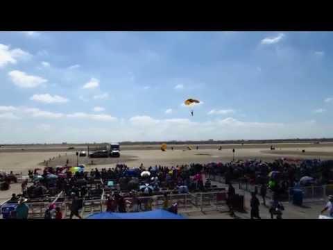 Golden Knights Parachute Team 2015 Miramar San Diego Air Show