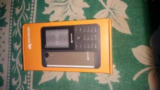Micromax X706 unboxing