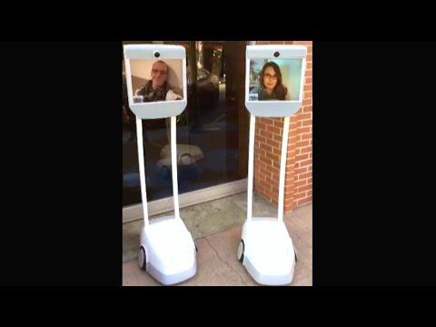 Telepresence Robots be Creepin