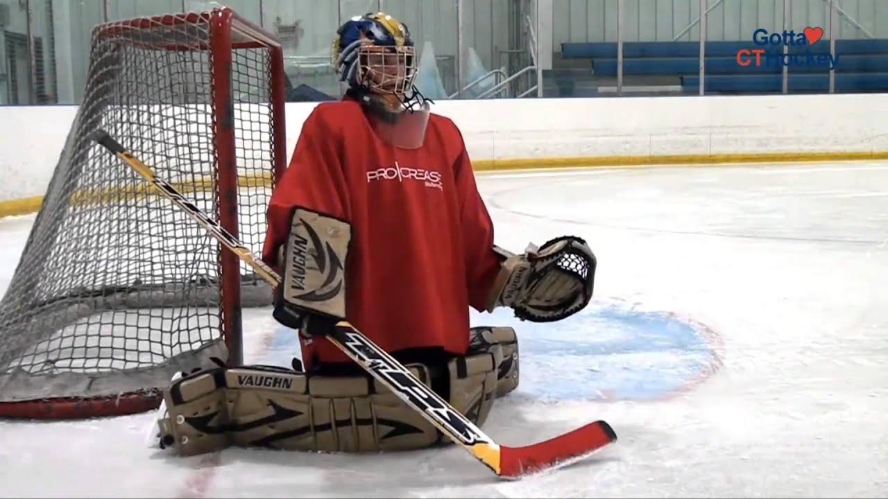 Goaltending Skill Of The Month Butterfly Slide Youtube