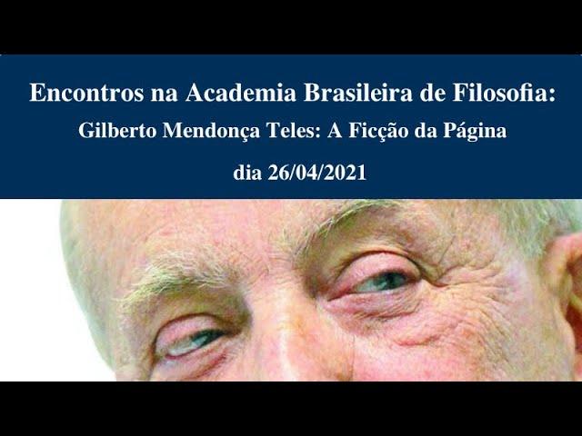 Gilberto Mendonça Teles: a Ficção da Página