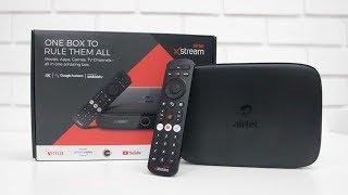 Airtel Xstream Box Smart TV Box + DTH Box In One