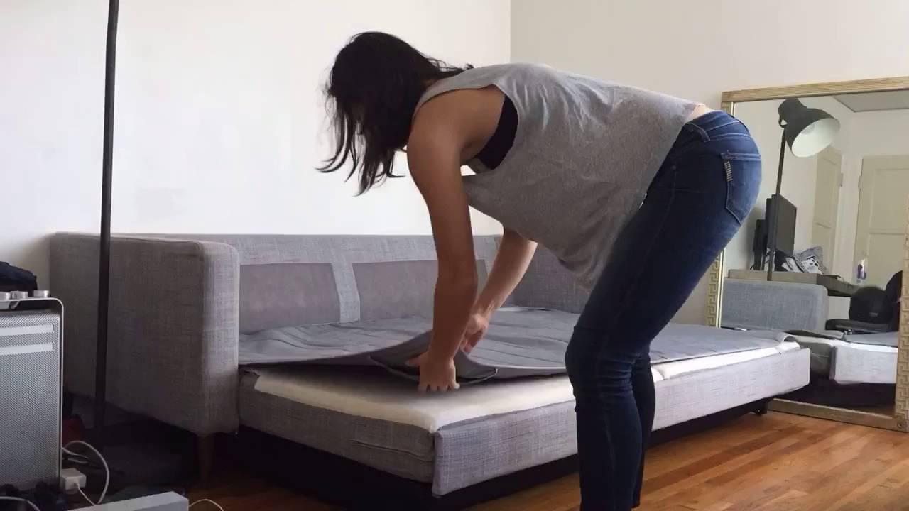 Karlstad Sofa Bed Setup