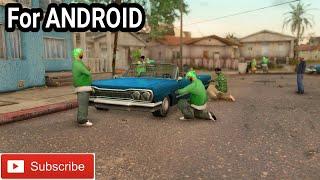 MOD GROVE STREET Ramai || GTA SA ANDROID
