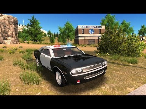 Police Car driving Offroad (Android -  iOS)