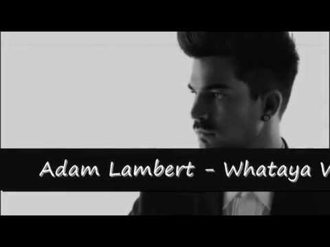 Adam Lambert - Whataya Want From Me (prevod na srpskom) - YouTube