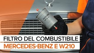 Riparazione MERCEDES-BENZ Classe E fai da te - guida video auto