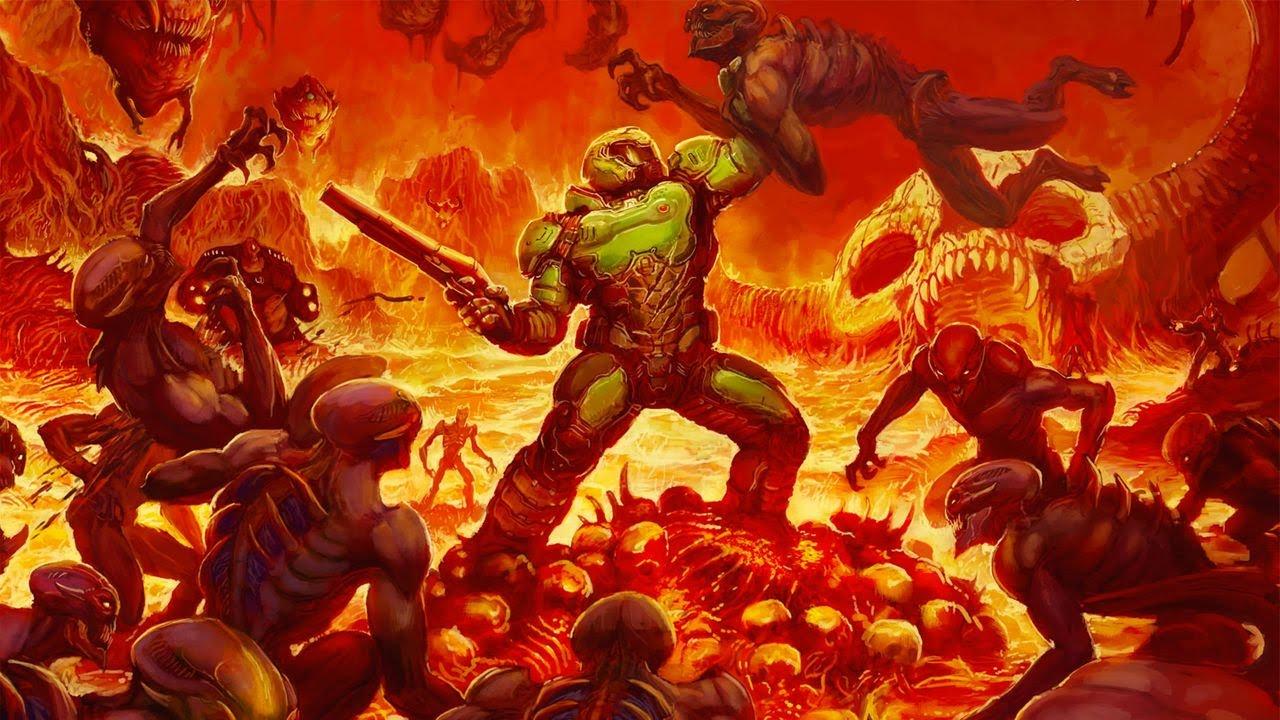 Doom 4 Weapons mod for BRUTAL DOOM v20b - Demonstration + download link!