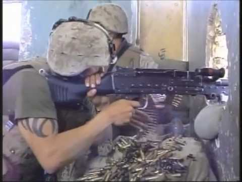 "Iraq War - USMC ""Machine Gun Room"""