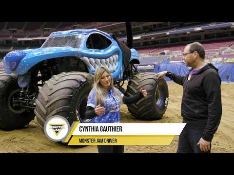 Mason Attempts to Change a Monster Truck Tire