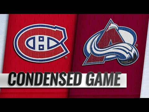 12/19/18 Condensed Game: Canadiens @ Avalanche