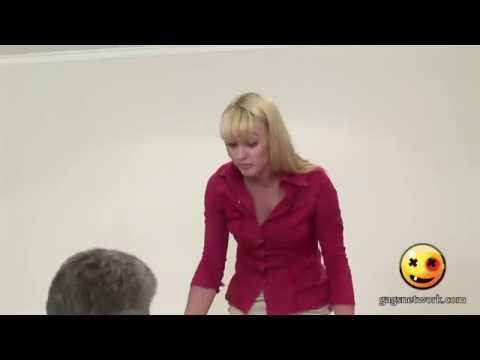 Naked And Funny  Secretary Casting  Hidden Camera
