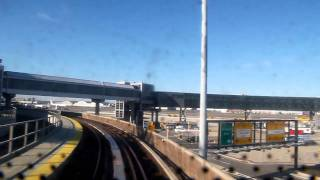 Airtrain JFK New York Cabview entire line (2012)