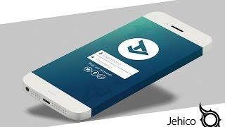 Mobile App Design l Speed Art
