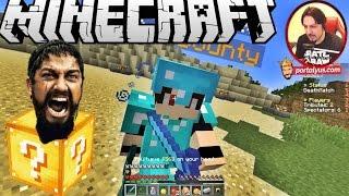 Spartaaaaaa | Minecraft Türkçe Hunger Games Şans Blokları | Bölüm 3