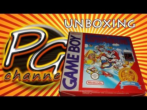 Super Mario Land unboxing